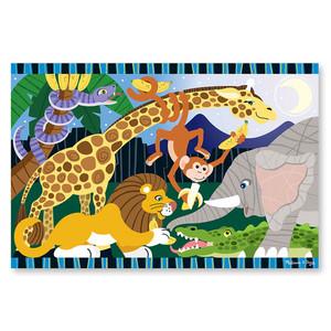 Melissa & Doug Floor Puzzle Safari Social