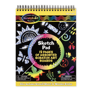 Melissa & Doug Scratch Art Pad