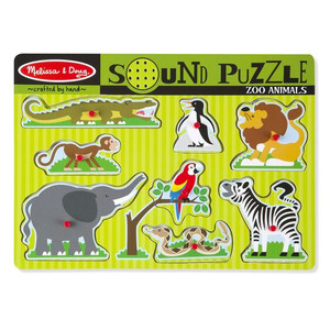 Melissa & Doug Sound Puzzle Zoo Animals