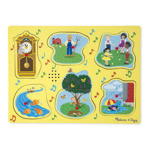 Melissa & Doug Sing-A-Long Nursery Puzzle