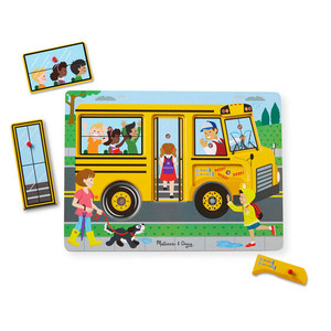 Melissa & Doug Wheels on the Bus Sound Puzzle