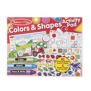 Melissa & Doug Colors and Shapes Activity Pad