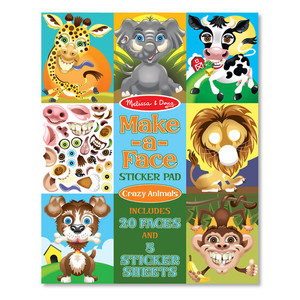 Melissa & Doug Make a Face Crazy Animals