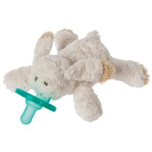 Oatmeal Bunny Wubbanub Pacifier