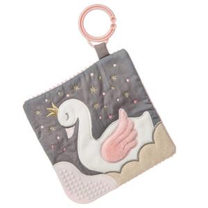 Itsy Glitsy Swan Crinkle Teether