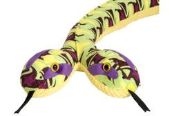 Two-Headed Snake Green and Purple 54""