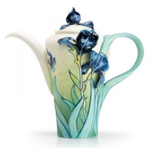 Franz Van Gogh Iris Teapot