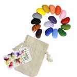 Crayon Rocks Colors in a Muslin Bag 16