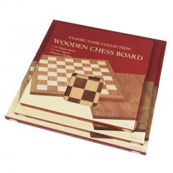 Chessboard Walnut 16""