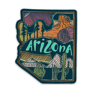 Keep Nature Wild Arizona Love Sticker