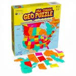 GeoToys Geo Puzzle USA and Canada
