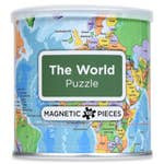 Geotoys Magnetic Puzzle The World