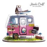 Handcrafts Happy Camper DIY Minature Dollhouse Kit
