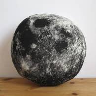 Full Moon Pillow, Black