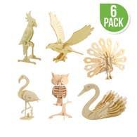 DIY Wooden Puzzles (6) Birds