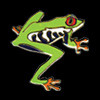 Tree Frog Zipper Pull