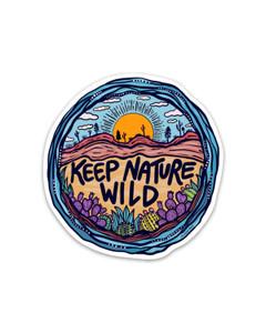 Keep Nature Wild - Wild Earth Sticker