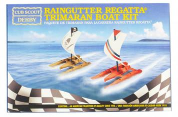 Raingutter Regatta® Trimaran Boat Kit