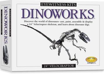 "Eyewitness Kits - Dinoworks 24"" Velociraptor"