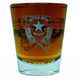 Nevada Battle Born Shot Glass