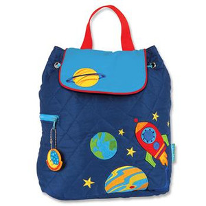 Space Quilted Toddler Backpack