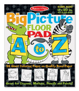 Melissa and Doug A to Z Alphabet Floor Pad