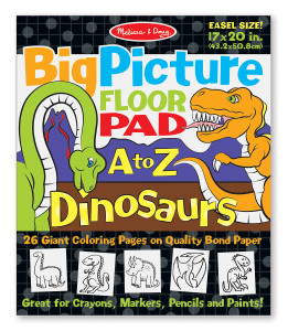 Melissa and Doug A to Z Dinosaurs Alphabet Floor Pad