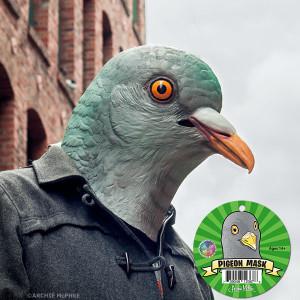 Pigeon Head Mask