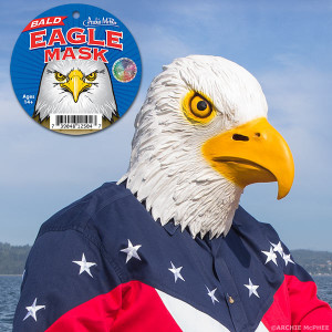Bald Eagle Head Mask