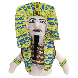 King Tut Finger Puppet