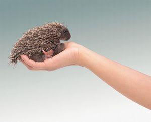 Mini Porcupine Finger Puppet