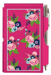 Flip Note- Pink Floral