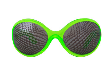 Elope Creepy Crawler Green Glasses