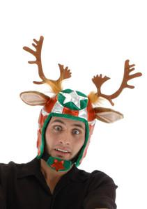 Elope Racing Reindeer Helmet