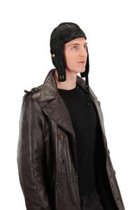 Elope Black Aviator Cap