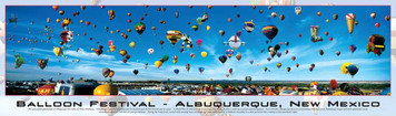 Buffalo Games Balloon Festival-Albuquerque, New Mexico 750 pc Puzzle