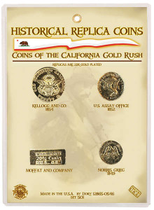 Replica Coins of the California Gold Rush