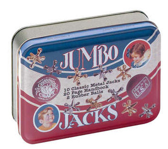 Jumbo Jacks Game- Toy Tin