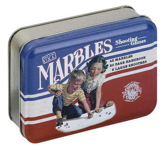 Classic Marbles Game- Toy Tin