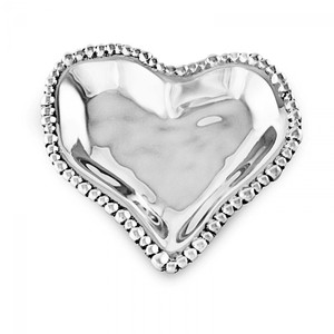 Beatriz Ball Small Organic Pearl Heart Dish