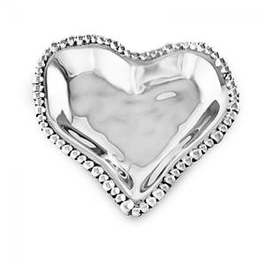 Beatriz Ball Small Organic Pearl Heart Dish
