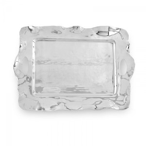 Beatriz Ball Large Vento Rebecca Rectangular Tray with Handles