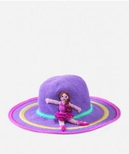 Kid's Floppy Ballerina Hat