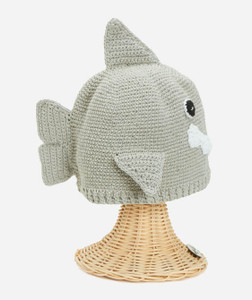 Kid's Shark Beanie