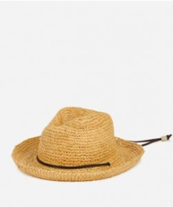 Kid's Raffia Hat with Chin Strap