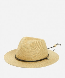 Kid's Paper Fedora with Braided Cord Chin Strap