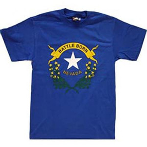 Nevada Battle Born Adult T Shirts 2XL