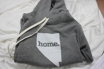 Light Grey Large Pullover Sweatshirt Hoodie