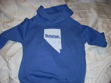 Child's Nevada Home Hoodie 4 Blue