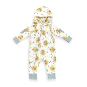 Hooded Romper 3-6 mo